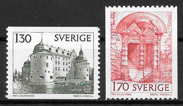 filatelia Europa Suecia 1978