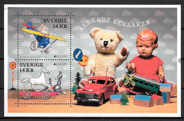 sellos Europa Suecia 2015