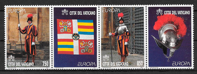 sellos Europa Vaticano 1997