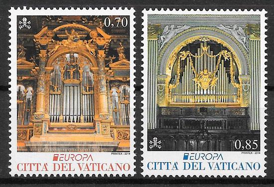 filatelia Europa Vaticano 2014