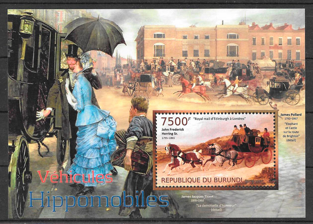 sellos transporte Burundi 2012