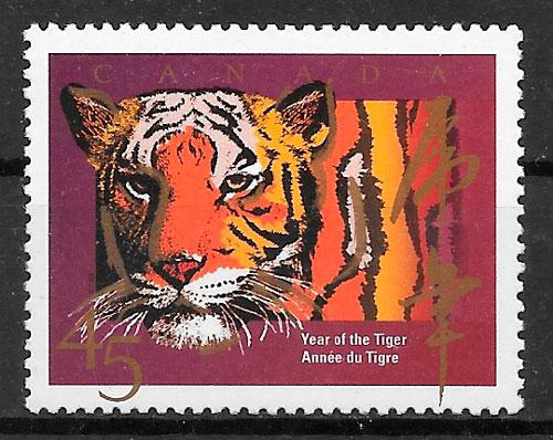 sellos año lunar CANADA 1997