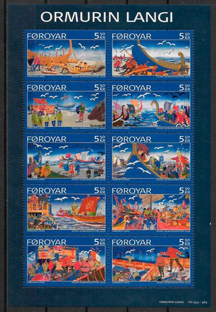 colección sellos cuentos feroe 2006