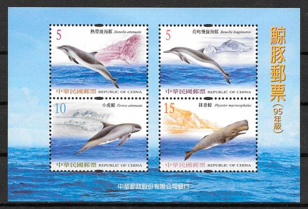 colección sellos fauna Formosa 2006