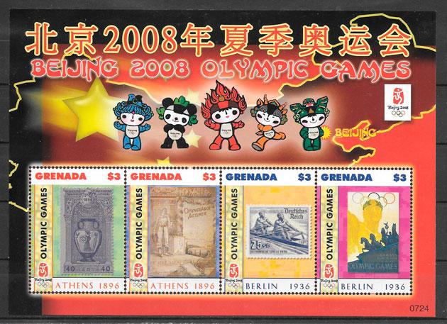 sellos deporte Grenada 2008