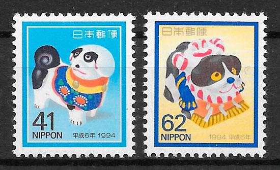 sellos año lunar Japón 1993