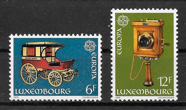sellos tema Europa Luxemburgo 1979