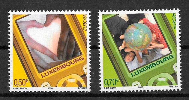 filatelia tema Europa Luxemburgo 2006