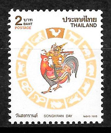 sellos año lunar Tailandia 1993