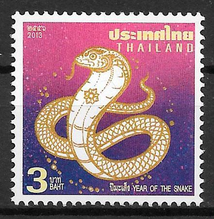 sellos año lunar Tailandia 2013