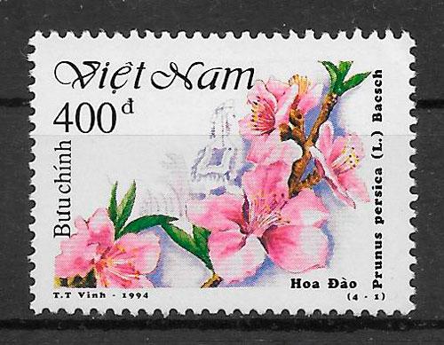 filatelia flora Viet Nam 1994
