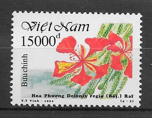 """Año 1993, serie de 6 sellos nº 1422- 27 del Catálogo Yvert, valor 5.95€. Exposición Filatelica Internacional """"Bangkok 93"""" en Tailandia. Trajes y costumbres nacionales femeninas."""