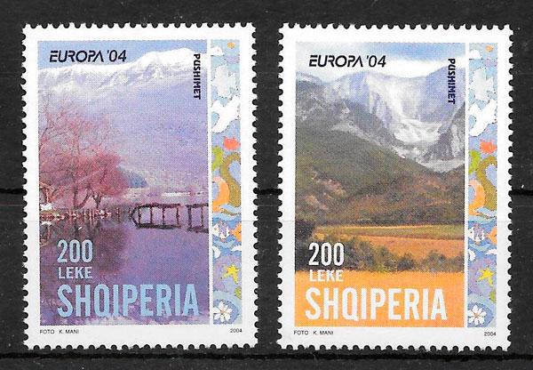 filatelia Europa Albania 2004