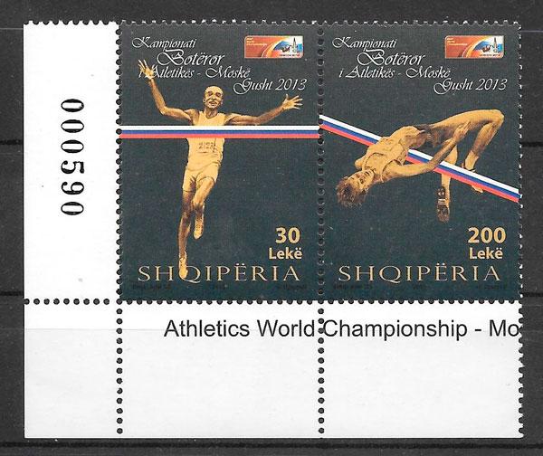 sellos deporte Albania 2013