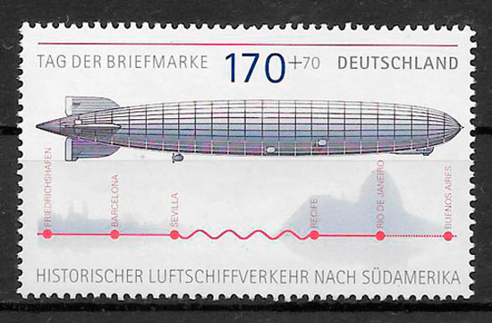 sellos transporte Alemania 2007