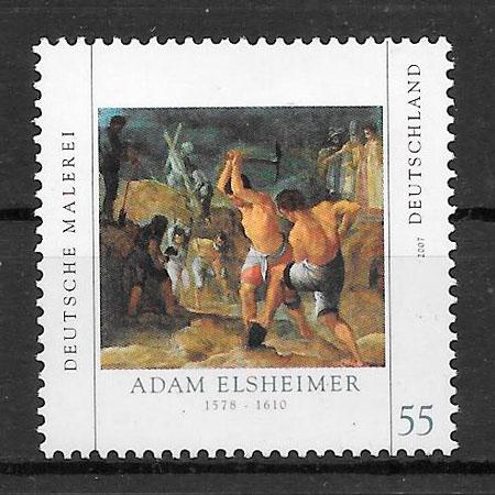 sellos pintura Alemania 2007