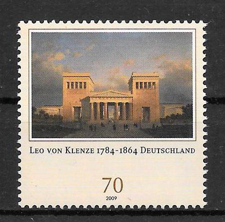filatelia pintura Alemania 2009