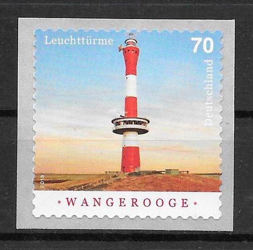 colección sellos faros Alemania 2018