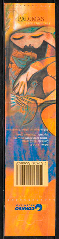 filatelia pintura Argentina 2000