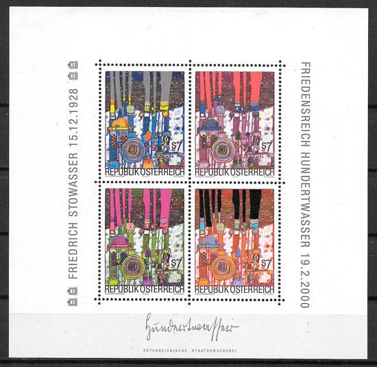 sellos pintura 2000 Austria