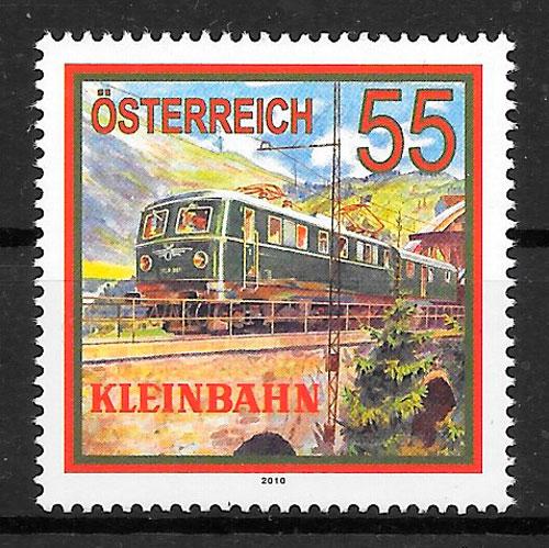 sellos trenes Austria 2010