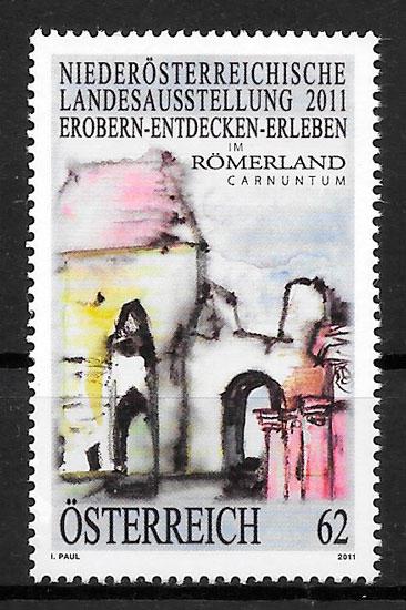sellos pintura Austria 2011