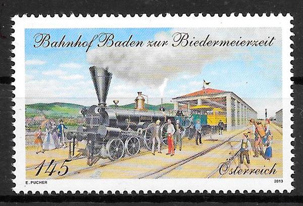 sellos trenes Austria 2013