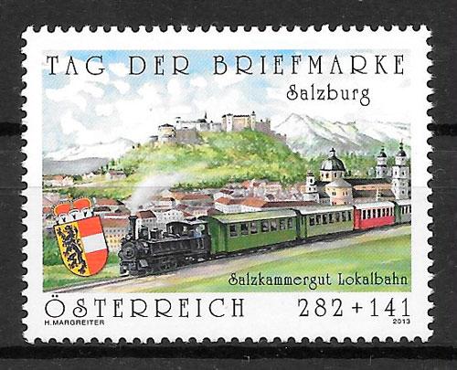 selos trenes Austria 2013