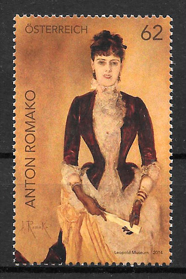selos pintura Austria 2014