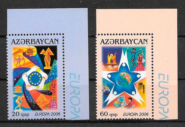 filatelia coleccion Europa Azerbaiyan 2006