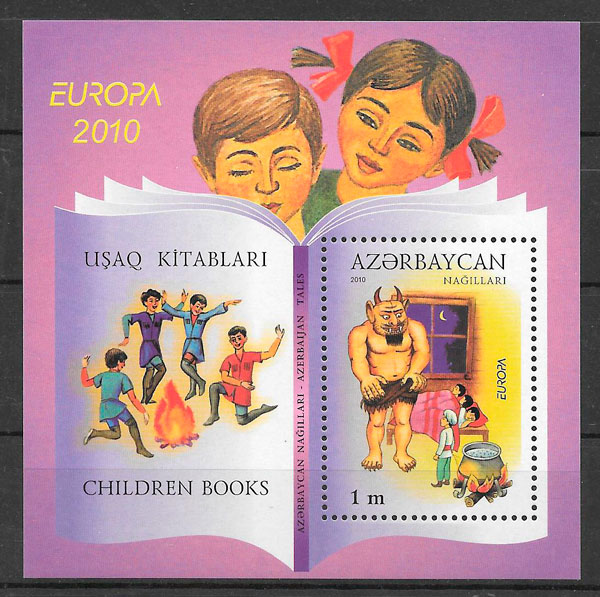 coleccion sellos Europa Azerbaiyan 2010