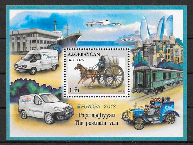 sellos Europa Azerbaiyan 2013