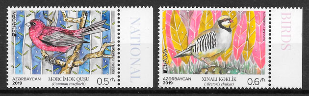 filatelia Europa Azerbaiyan 2019