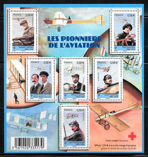 selos cruz roja Francia 2010