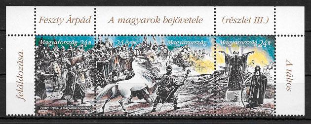 filatelia pinturas Hungría 1994
