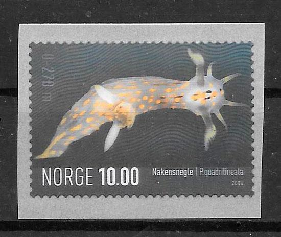filatelia colección fauna Noruega 2006