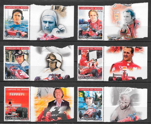 sellos deporte San Marino 2005