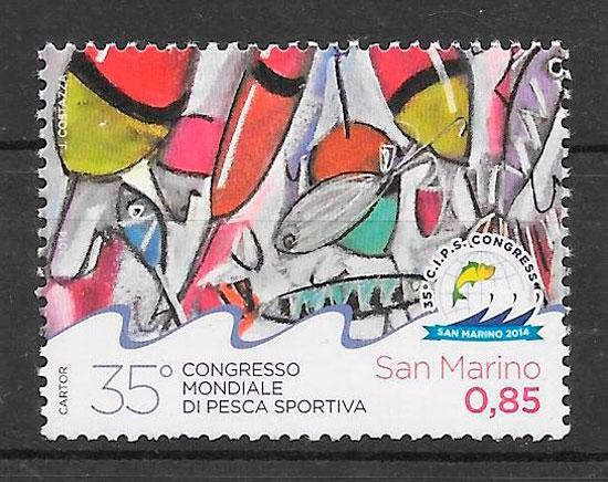 sellos deporte Marino 2014