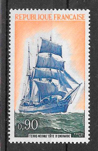 sellos transporte Francia 1972