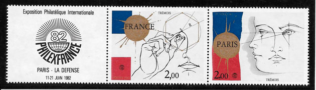 filatelia colección temas varios Francia 1981