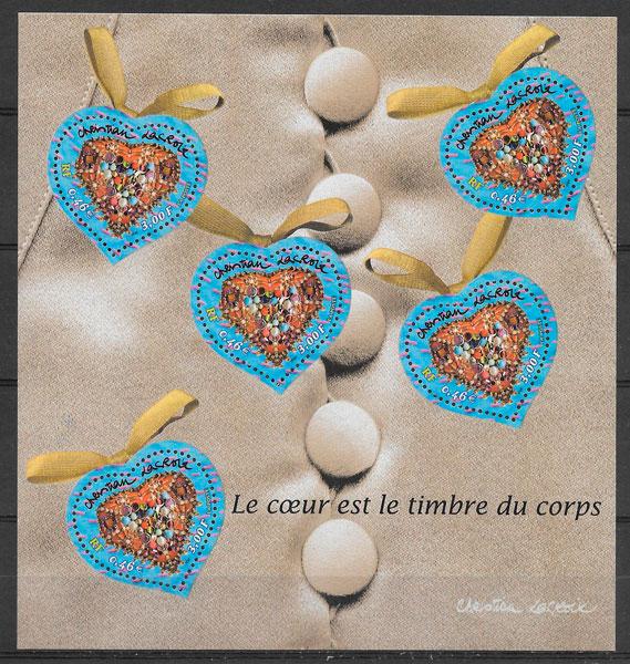sellos temas varios Francia 2001