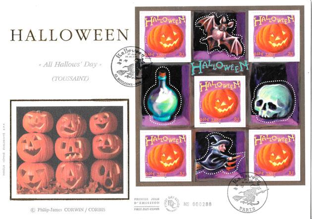 sellos arte Francia 2001