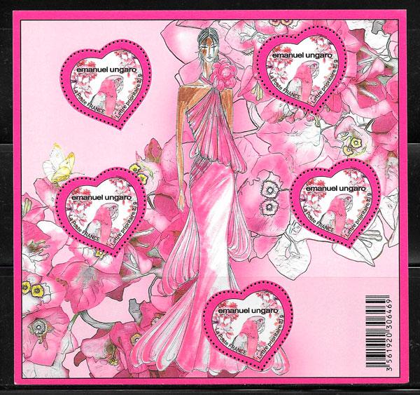 sellos temas varios Francia 2008