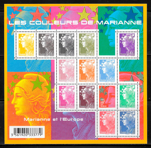 colección sellos temas varios 2009