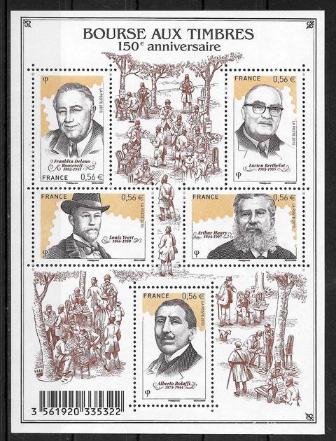 sellos temas varios Francia 2010