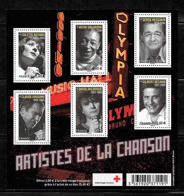 filatelia arte Francia 2011