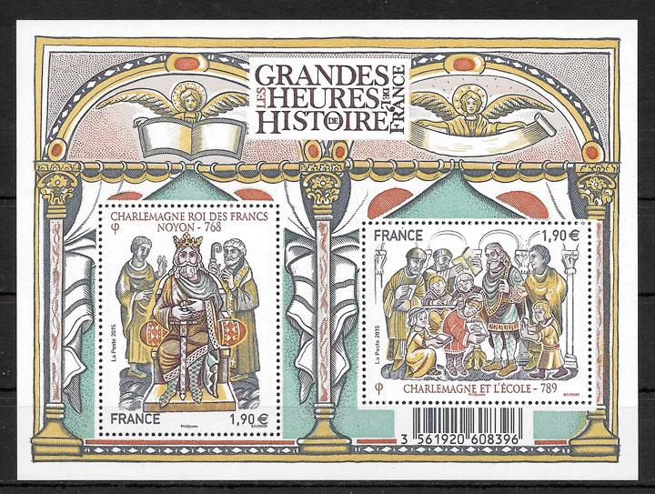 sellos pinturas Francia 2015