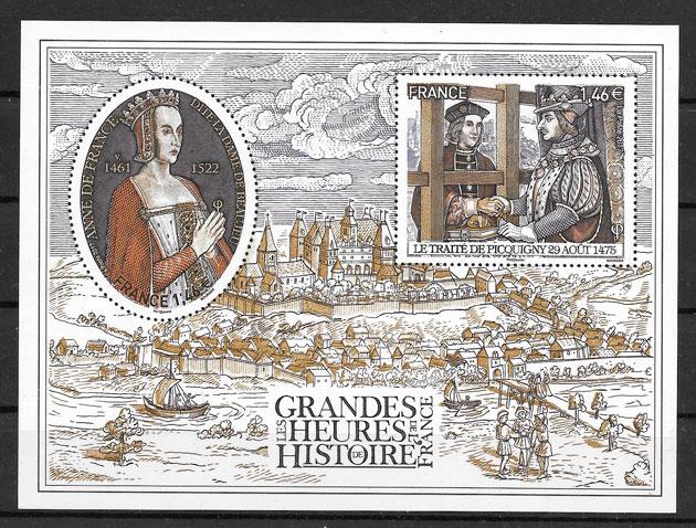 sellos pinturas Francia 2017
