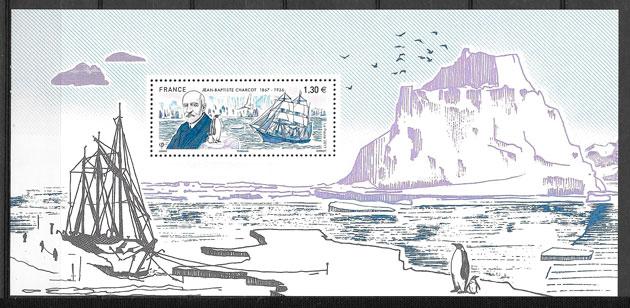 coleccionar sellos transporte Francia 2017