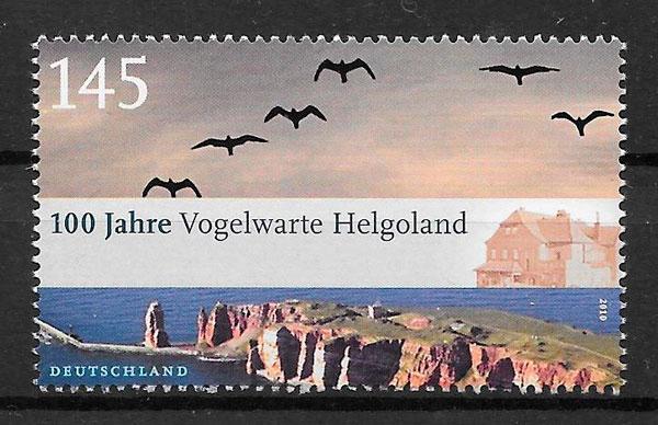 colección sellos parques naturales Alemania 2010